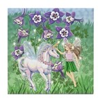 Fairy Unicorn Tile Coaster