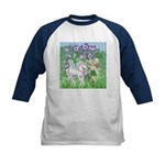 Fairy Unicorn Kids Baseball Jersey