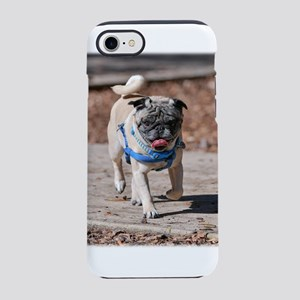 Pug On The Move iPhone 8/7 Tough Case
