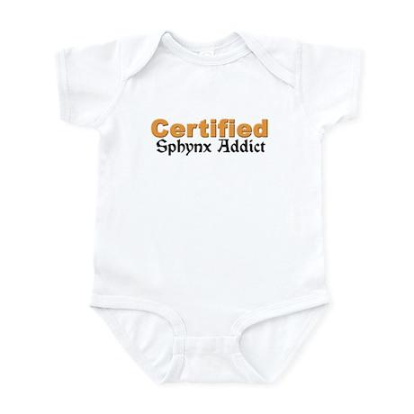 Certified Sphynx Addict Infant Bodysuit