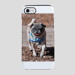Pug Coming Home iPhone 8/7 Tough Case