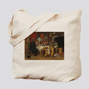 A pastoral Visit by Richard Norris Brooke Tote Bag