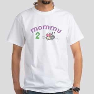 Mommy 2 Bee ! White T-Shirt