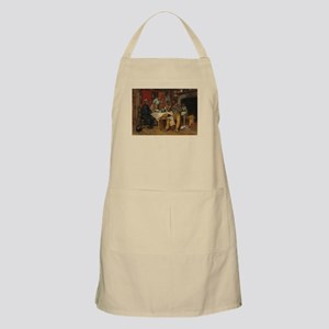 A pastoral Visit by Richard Norris Brooke Apron