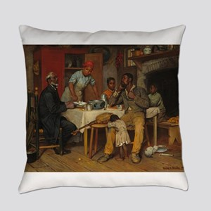 A pastoral Visit by Richard Norris Everyday Pillow