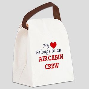 My Heart Belongs to an Air Cabin Canvas Lunch Bag