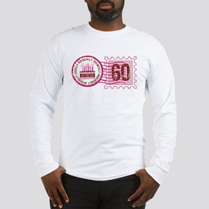 Birthday Stamp 60 Long Sleeve T-Shirt