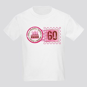 Birthday Stamp 60 Kids Light T Shirt