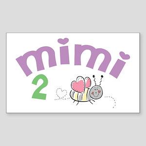 Mimi 2 Bee! Rectangle Sticker