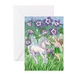 Fairy Unicorn Greeting Cards (Pk of 10)