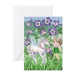 Fairy Unicorn Greeting Card