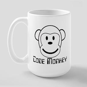 Code Monkey Large Mug