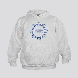 Friends are Like Stars Friendship Quot Kids Hoodie