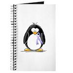Lavender Ribbon Penguin Journal