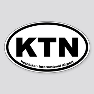 Ketchikan International Airport Oval Sticker