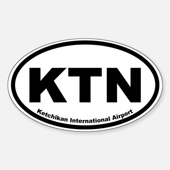 Ketchikan International Airport Oval Decal