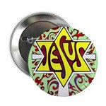 """Jesus - The Main Attraction 2.25"""" Button"""