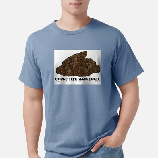 Coprolite Happened -- Ash Grey T-Shirt