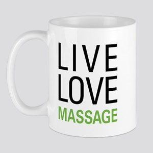 Live Love Massage Mug