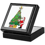 Santa and our star Keepsake Box