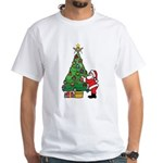 Santa and our star White T-Shirt