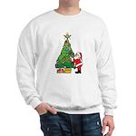 Santa and our star Sweatshirt