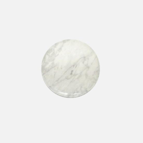 White Marble Mini Button
