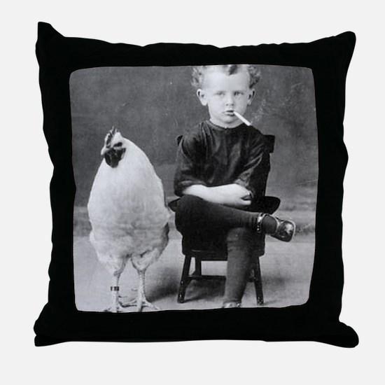 Cute Odd Throw Pillow