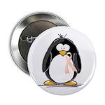 Peach Ribbon Penguins 2.25