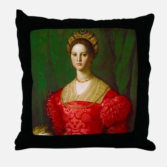 Cute Aristocrat Throw Pillow