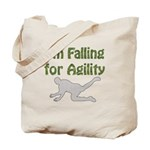 Falling for Agility Tote Bag