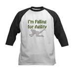 Falling for Agility Kids Baseball Jersey