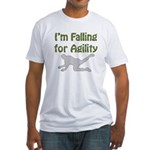 Falling for Agility Fitted T-Shirt