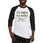 Falling for Agility Baseball Jersey
