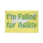Falling for Agility Rectangle Magnet (10 pack)