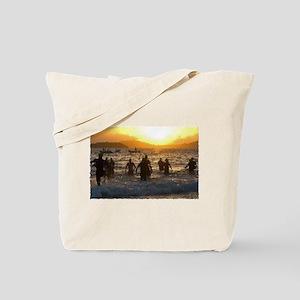 TRIATHLON SUNRISE Tote Bag