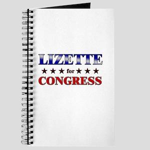LIZETTE for congress Journal