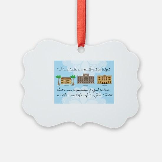 Cool Booklover Ornament