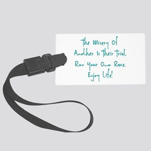 The Race Luggage Tag