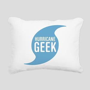 Hurricane Geek Rectangular Canvas Pillow