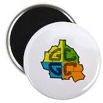 GCGC Map Logo Magnets