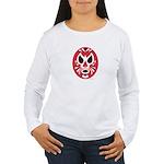 Wrestling Mask Women's Long Sleeve T-Shirt
