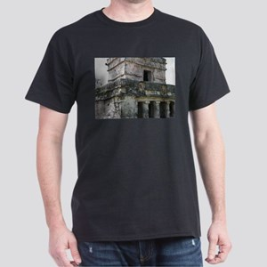 Mayan Ruins of Tulum (B) Dark T-Shirt