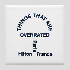 Paris Hilton Tile Coaster
