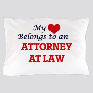 My Heart Belongs to an Attorney At Law Pillow Case