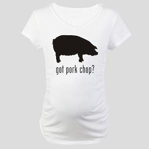 Pork Chop Maternity T-Shirt