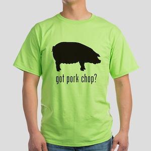 Pork Chop Green T-Shirt