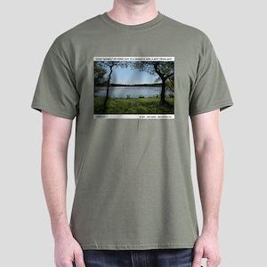 PEACEFUL LAKE Dark T-Shirt