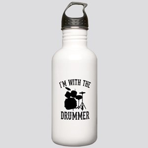 I'm With The Drummer Stainless Water Bottle 1.0L