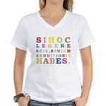 Tumerica Women's V-Neck T-Shirt